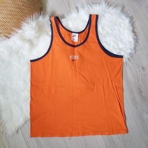 Vintage Nike orange tank top